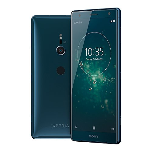 Sony Xperia XZ2 (H8296) 6GB / 64GB 5.7-inches LTE Dual SIM Factory Unlocked sim free (Deep Green)
