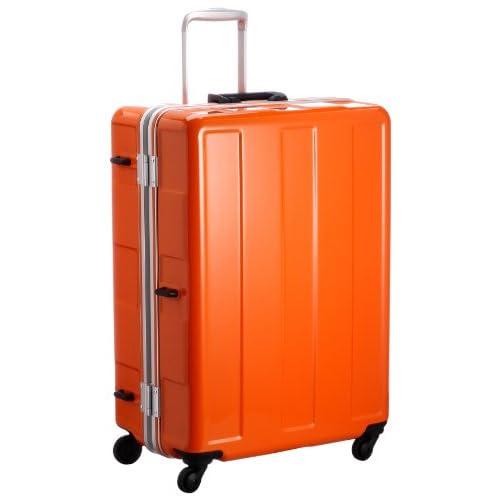 [プラスワン] PLUS ONE 超軽量! 《Booon》 5.0kg/96? お預け手荷物MAXタイプ(総外寸157cm) HINOMOTO社製グリスパックキャスター採用 120-67 OR OR (オレンジ)