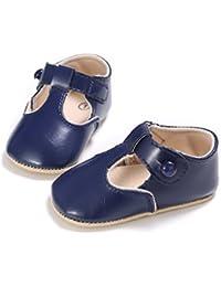 SIEGES ベビー ファーストシューズ キッズ靴 赤ちゃんシューズ 滑り止め 歩行練習用 ソフト靴底 出産祝い 紺 13cm