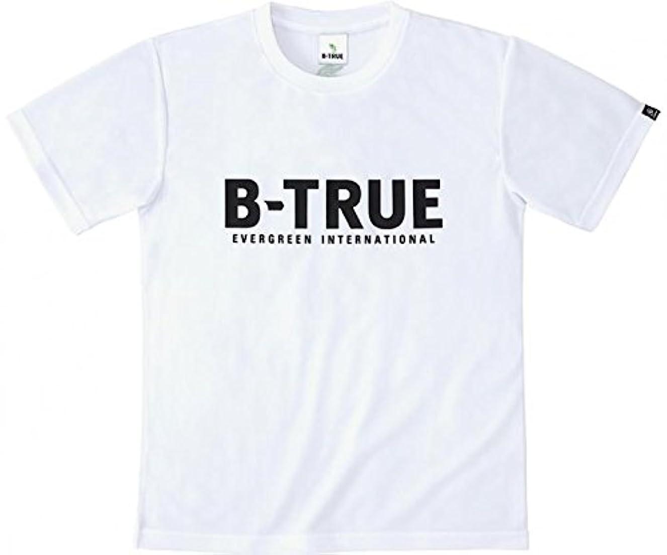 エバーグリーン(EVERGREEN) B-TRUE ドライTシャツ Aタイプ S ホワイト.