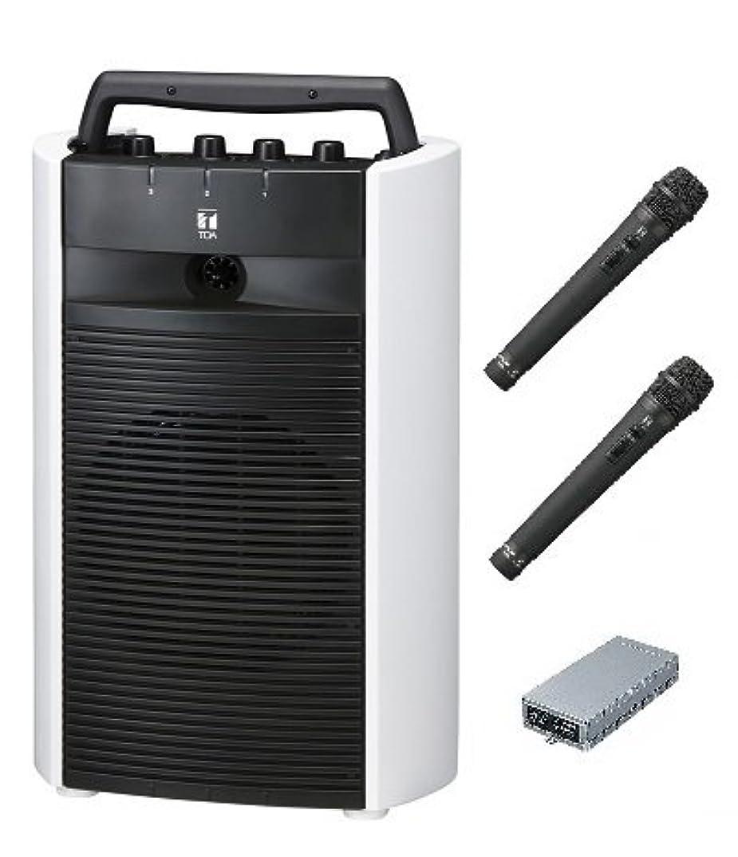 錫返還と遊ぶTOA デジタルワイヤレスアンプ(SD/USB/CD機能付き)?ワイヤレスマイクセット WA-2800SC×1 WTU-1820×1 WM-1220×2 ダイバシティ