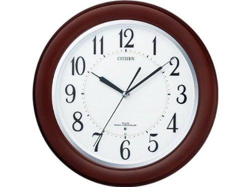 シチズン リバライトF461 自動点灯機能付 電波掛け時計 8MY461-006