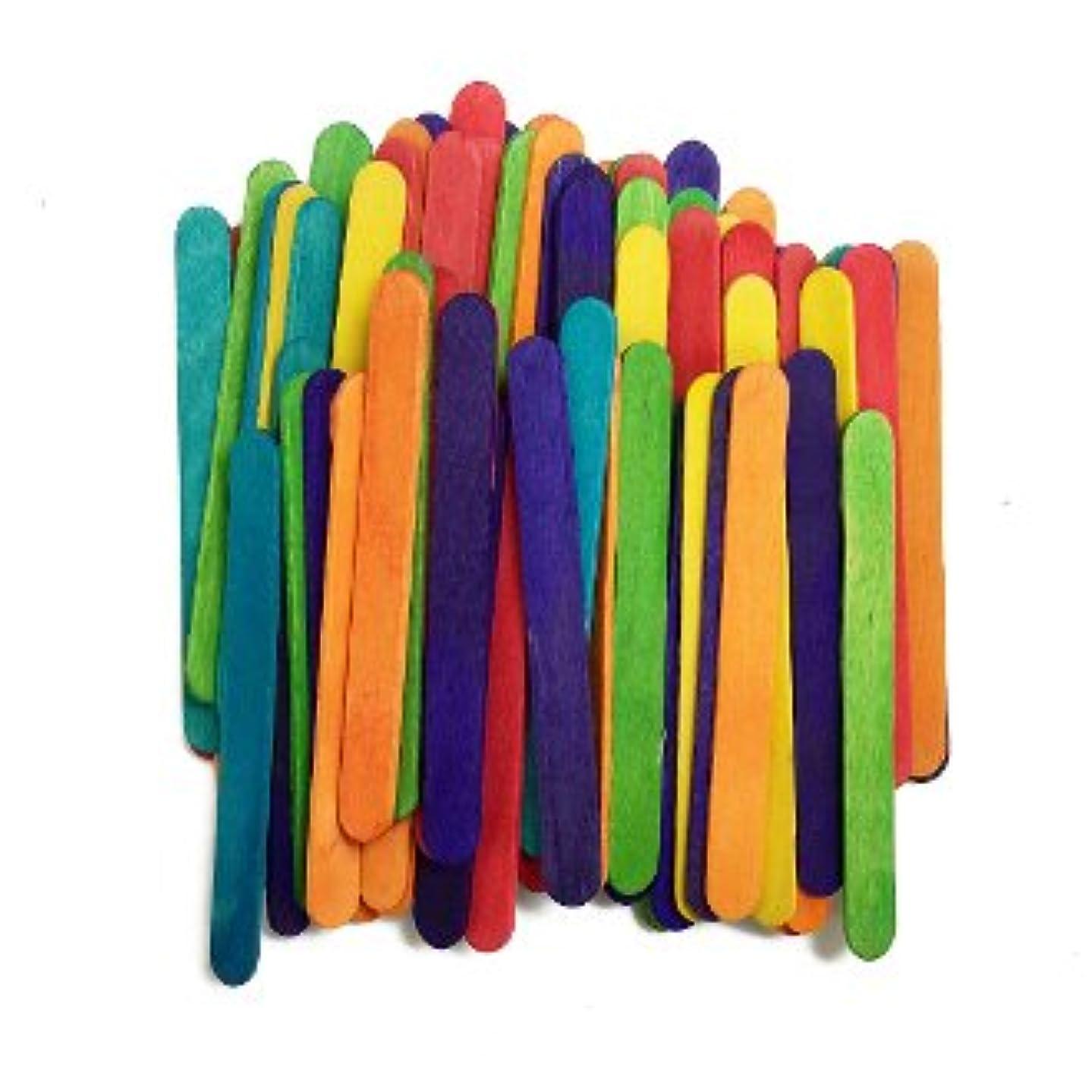 階確かなツインArts & Crafts Wood Sticks – Assorted Colors 0.4