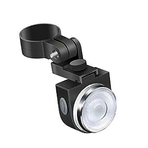 VANGOGO テールライト USB充電式 4点灯モード 200ルーメン IPX5防水 400mAhセーフティーライト 高輝度 ロードバイク リアライト 自転車用ライト 簡単装着 夜間走行の視認性をアピール