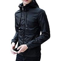 [ラルジュアルブル] パーカー シンプル メンズ 長袖 かっこいい アウター トップス プルオーバー フード ポケット
