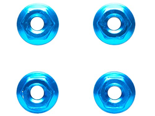 TRFシリーズ 4mm アルミセレーションホイールナット (ブルー/4個) 42143