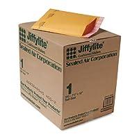 "Sealed Air–Cushioned Mailer、バルク、self-seal、SZ 4.32–1/ 4"" x12インチ、100/ CT、クラフト、1カートンとして販売、Sel 39092"