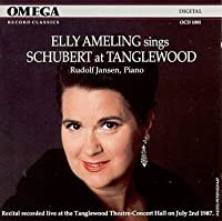 Elly Ameling Sings Schubert at Tanglewood