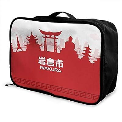 折りたたみ ボストンバッグ 岩倉市 スーツケース スーツケース用サブバッグ トラベルバッグ 大容量 旅行 出張 旅行バッグ One Size 白