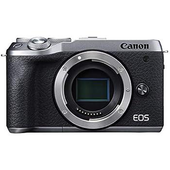 Canon ミラーレスカメラ EOS M6 Mark II (シルバー)
