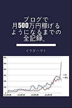 [イケダ ハヤト]のブログで月500万円稼げるようになるまでの全記録。 (イケハヤ書房)