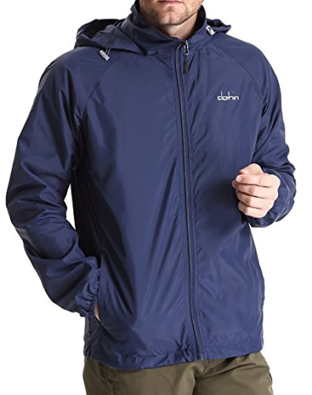 Clothin(クロズイン) 登山ジャケット ウィンドブレーカー メッシュ ブルゾン 軽量 防風 通気 撥水 防寒着 メンズ 大き ぽっちゃり サイズ 全5色 CD13006