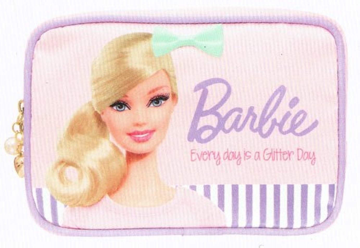 宙返り過ち出席バービー Barbie コスメポーチ ライトピンク10106【化粧ポーチ メイク キャラクター かわいい】