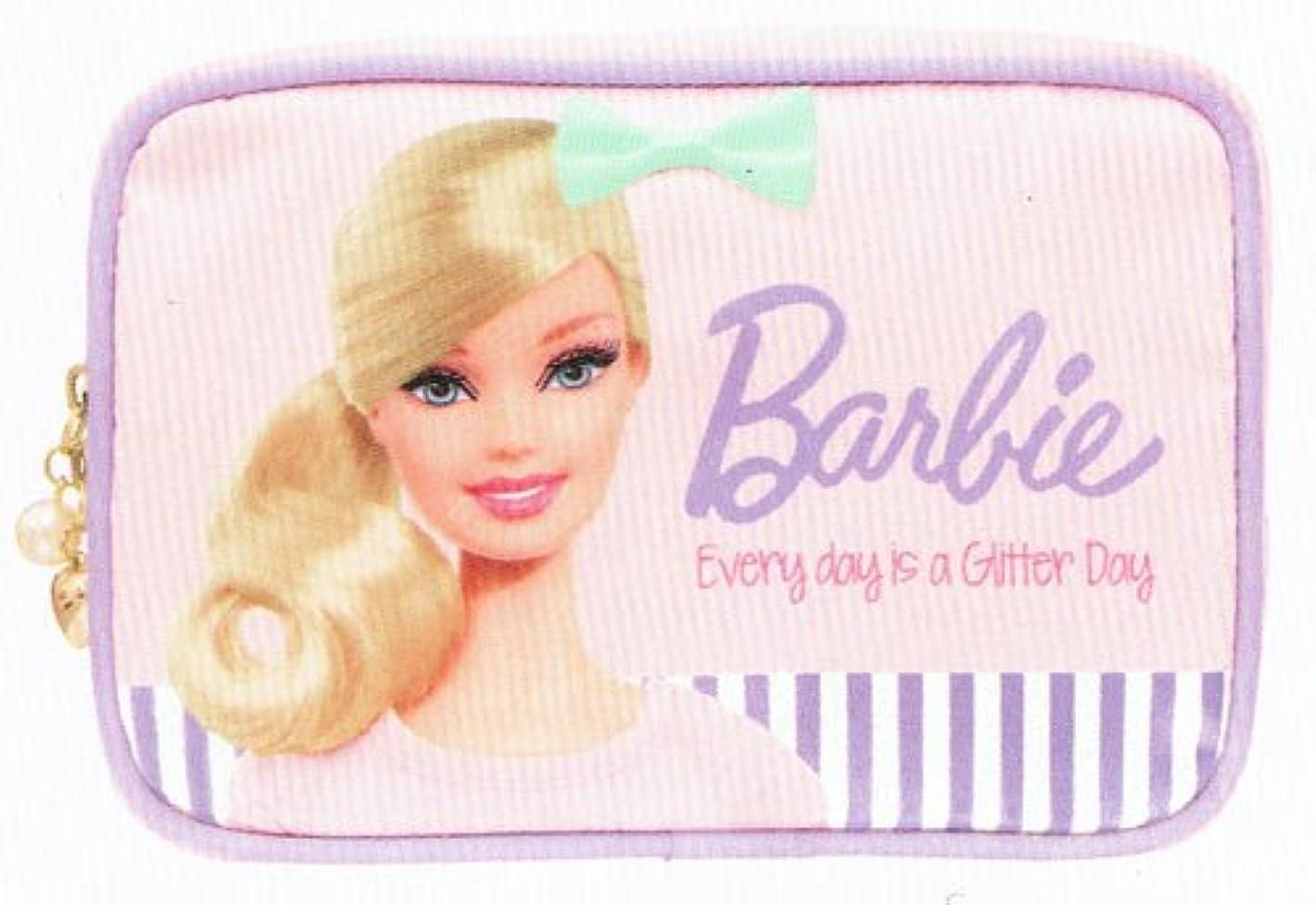 眠っているジェスチャー柔和バービー Barbie コスメポーチ ライトピンク10106【化粧ポーチ メイク キャラクター かわいい】