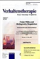 Freier Wille Und Biologische Regulation