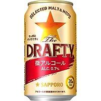 【アルコール0.7%】サッポロ ザ.ドラフティ [350ml×24本]