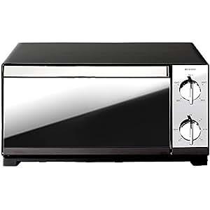 アイリスオーヤマ オーブントースター トースト4枚 温度調整機能付き POT-413-B