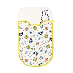 西川 リビング ミッフィー ベビー 足元 ぬくぬく カンガルーポケット毛布 日本製 50×85cm Mおか柄 1531-54000