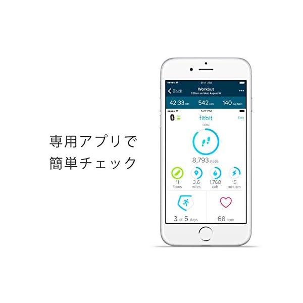 Fitbit フィットビット 心拍計 活動量計...の紹介画像6