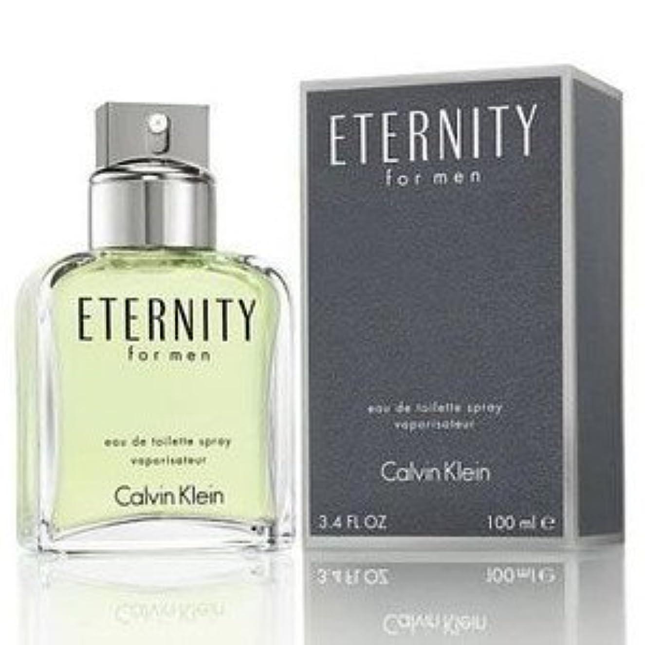 休日容器航空【CALVIN KLEIN (カルバン クライン)】 ETERNITY FOR MEN エタニティ フォーメン 100ml EDT SP 香水