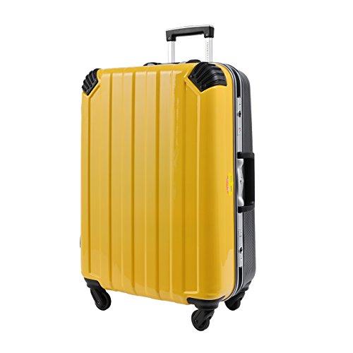 [ロジェールジャパン] スーツケース等   保証付 58L 67cm 4.7kg FE-0680-60 YE イエロー