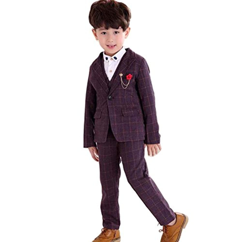 Convoy leather スーツ 入学式 卒業式 4点セット 男の子