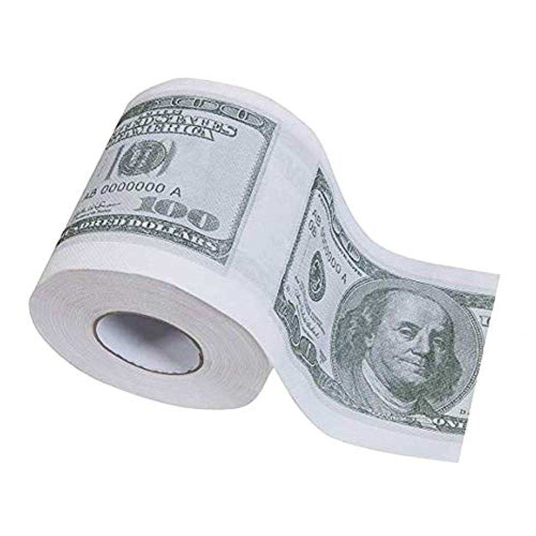 トイレットペーパー 100ドル 米ドル ギャグのギフト いたずら おもしろ ジョーク ジョークグッズ ドッキリ 贅沢 アメリカ トイレ用品 忘年会 パーティ