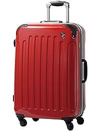 [グリフィンランド]_Griffinland TSAロック搭載 スーツケース 軽量 アルミフレーム ミラー加工 newPC7000 フレーム開閉式 【1年間修理保証対応】
