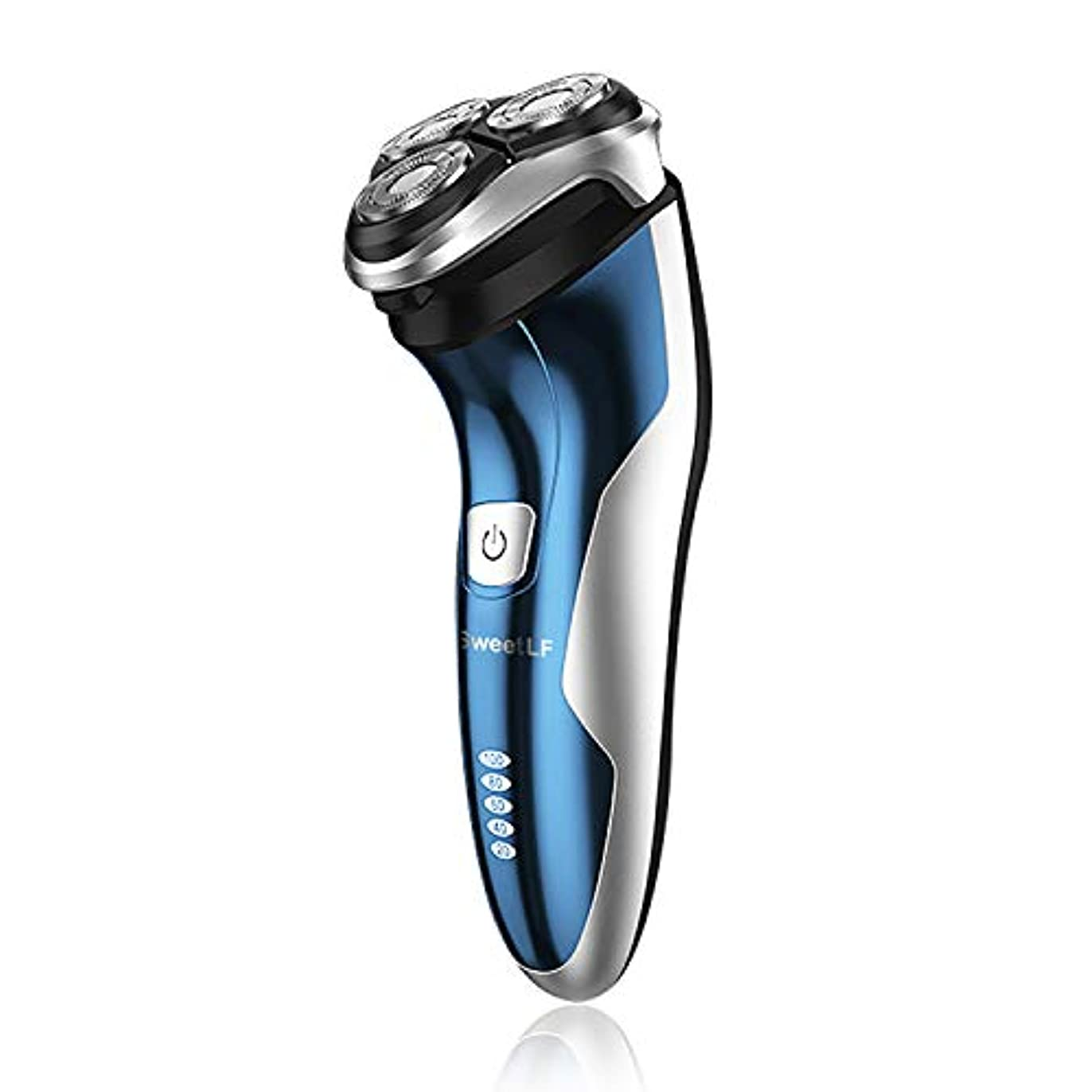 SweetLF Electric Shaver Rotary Shaver for Men Wet Dry Waterproof 2 in 1 Beard Trimmer Cordless Electric Razor...