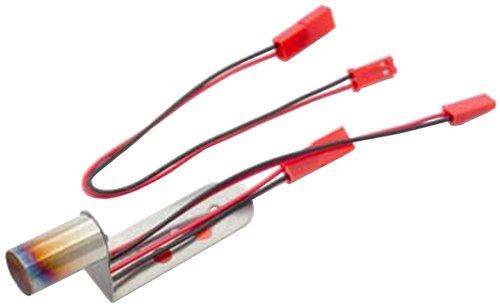 10φ径赤橙2色LED LED内蔵 ステンレスマフラー (延長コード付) SD-ML