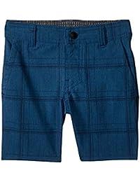 オニール ONeill Kids キッズ 男の子 ショーツ 半ズボン Dark Blue Mixed Hybrid Shorts [並行輸入品]