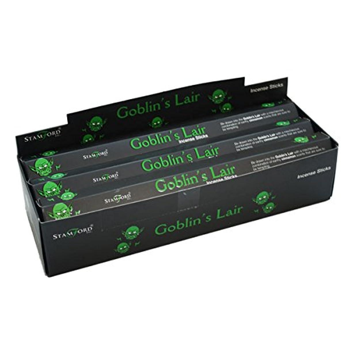 仲介者スクラブセンター37135 Goblin 's Lair StamfordブラックIncense Sticks