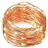 Solarbuy24 Solar Garden Outdoor Solar String Lights Copper Wire 200 LEDs Solar String Light Garden Waterproof 23M(Warm Wihte) …
