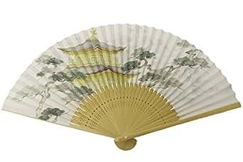 紳士用京扇子 金閣寺(日本製)