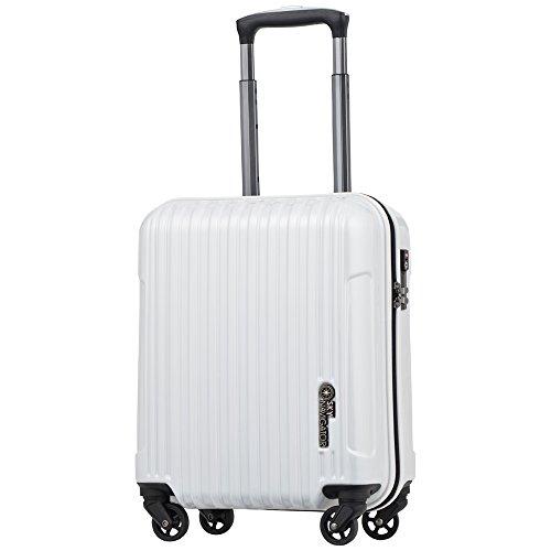 スカイナビゲーター スーツケース SKY NAVIGATOR コインロッカーシリーズ TSAロック搭載 ハードキャリー 4輪 25L 1日 2日用 41cm SK-0722-41 全6カラー (ホワイトヘアライン)