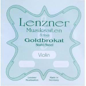 Goldbrokat ゴールドブラカット バイオリン分数弦 (3/4-1番線 E線(ボールエンド))