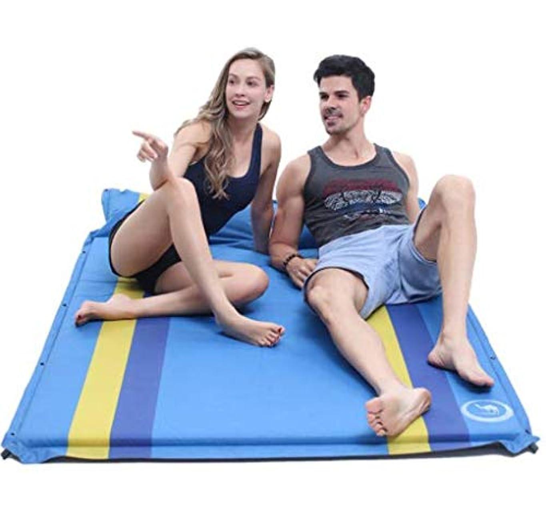優雅納税者降雨LYgMV 屋外の自動インフレータブルクッションダブル屋外の寝袋肥厚拡大テントマットフロアマットキャンプマット