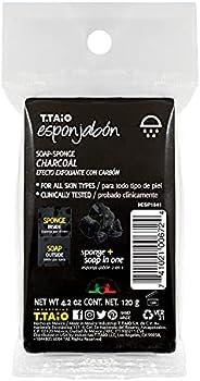 T.TAiO Esponjabon Charcoal Soap Sponge