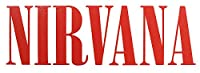 Nirvana(ニルヴァーナ) ステッカー/インスタントレタリング レッド S-0805 Red