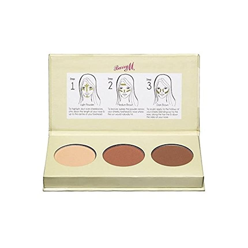 妊娠した調整するバレルBarry M Chisel Cheeks Contour Kit (Pack of 6) - バリーチゼルの頬の輪郭キット x6 [並行輸入品]