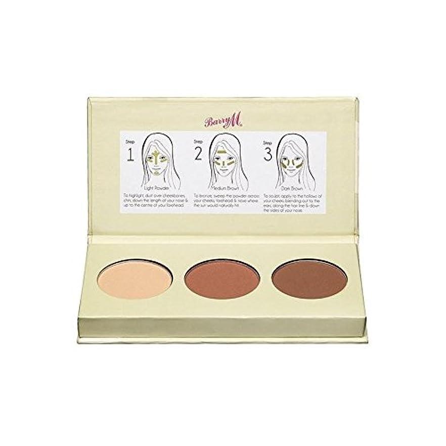 羊の敬意を表するミッションバリーチゼルの頬の輪郭キット x2 - Barry M Chisel Cheeks Contour Kit (Pack of 2) [並行輸入品]