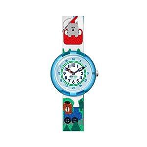 [フリック フラック]SWATCH 腕時計 Story Time (ストーリータイム) MIAU IN THE ALPS (ミオー・イン・ザ・アルプス) ガールズ FBNP108 FBNP108 ガールズ 【正規輸入品】