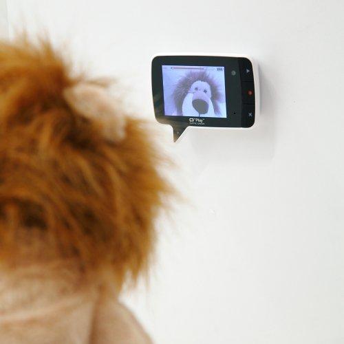 手のひらサイズのビデオカメラで、家族に動画で伝言メモを残せる。