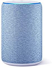 All-new Echo (3rd Gen) - Smart speaker with Alexa - Twilight Blue Fabric
