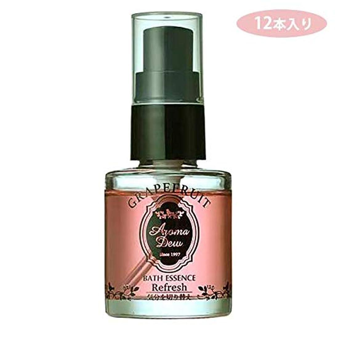 触覚同性愛者日焼けAM-E10GF 12本入り アロマデュウ 香りのバスエッセンス グレープフルーツ