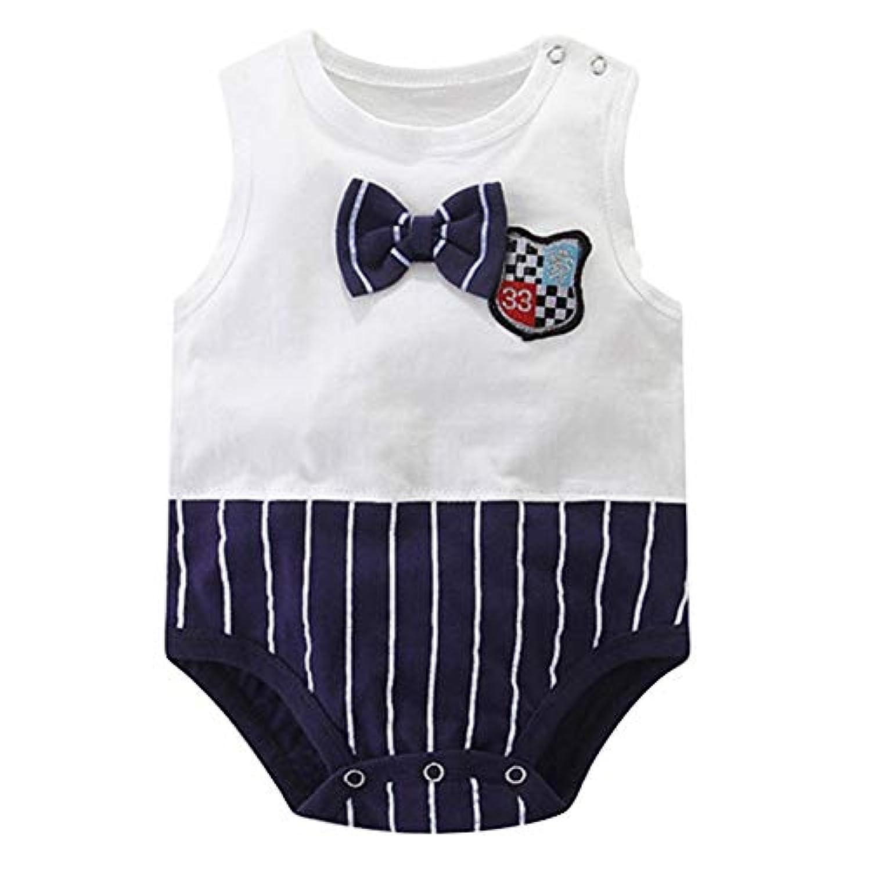 Urmagicロンパース ベビー服 コットン 新生児 肌着 半袖 ユニセックス ノースリーブ パジャマ 出産お祝い 子供の日 プレゼント