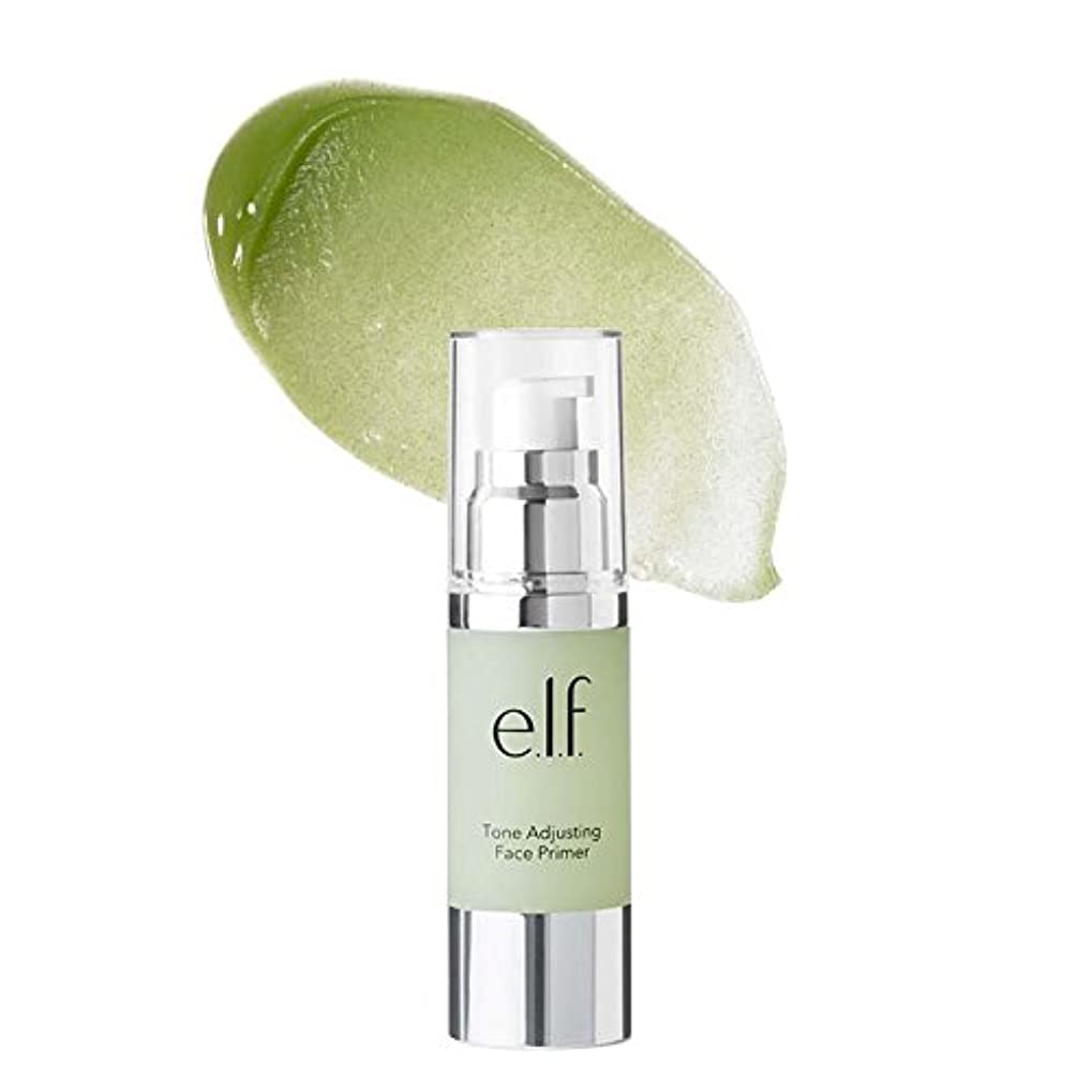 芝生やりすぎ追記(3 Pack) e.l.f. Tone Adjusting Face Primer Large - Neutralizing Green (並行輸入品)