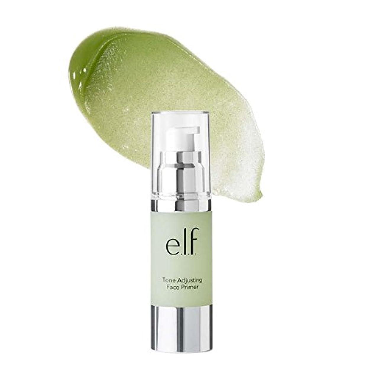 オーケストラ終わった病気だと思う(3 Pack) e.l.f. Tone Adjusting Face Primer Large - Neutralizing Green (並行輸入品)