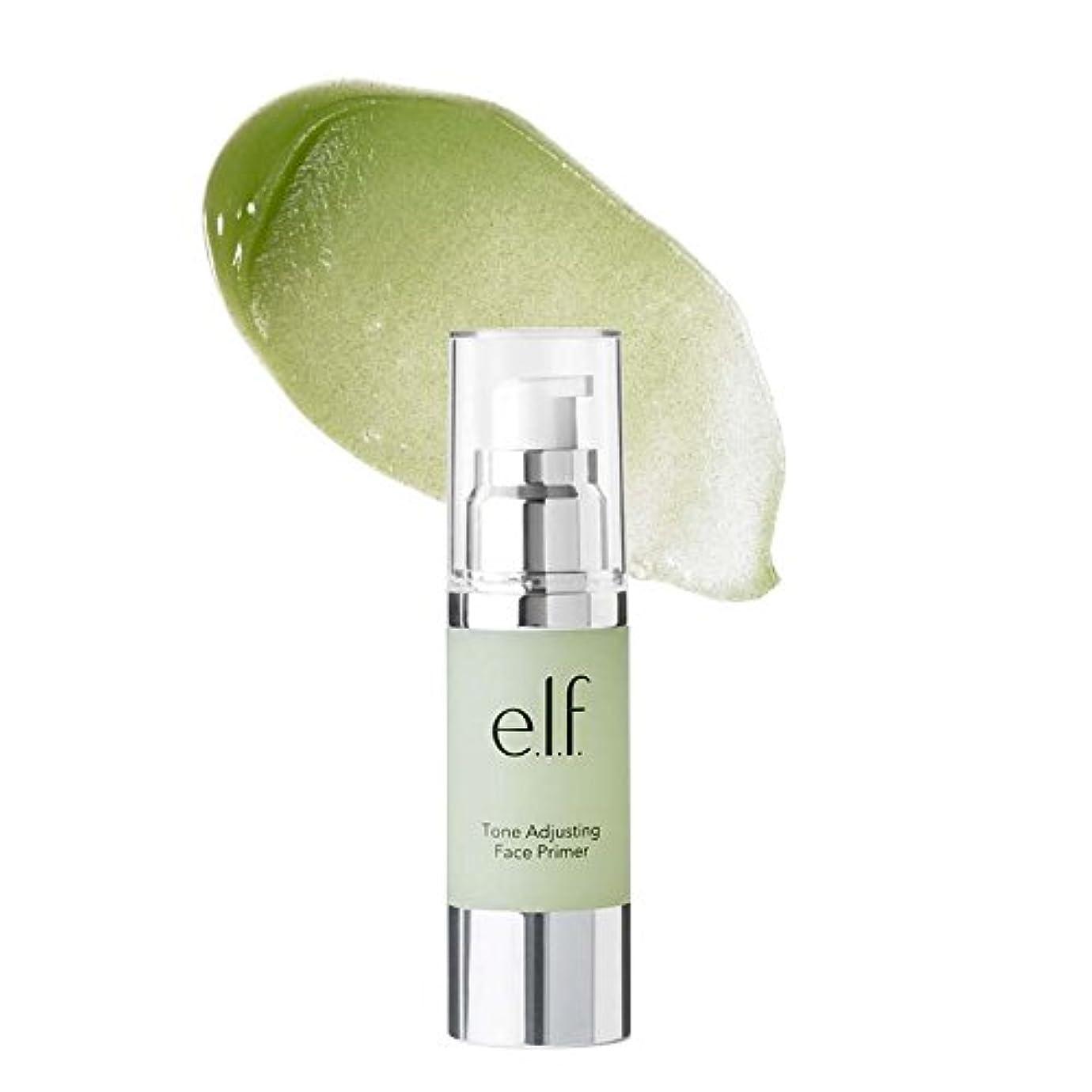 圧縮災難爆風(3 Pack) e.l.f. Tone Adjusting Face Primer Large - Neutralizing Green (並行輸入品)