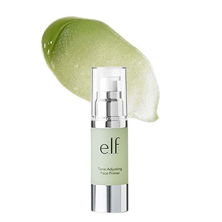 拒否大統領絞る(6 Pack) e.l.f. Tone Adjusting Face Primer Large - Neutralizing Green (並行輸入品)